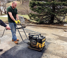 Newton's Seal Coating - asphalt repair