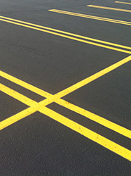 Picture of a commercial parking lot